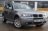 USED 2007 57 BMW X3 2.0 D M SPORT 5d 148 BHP NO DEPOSIT FINANCE AVAILABLE