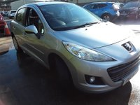 USED 2011 11 PEUGEOT 207 1.6 HDI ACTIVE 5d 92 BHP £20 ROAD TAX, 7 SERVICE STAMPS