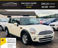 USED 2010 10 MINI HATCH COOPER 1.6 COOPER D 3d 108 BHP FULL MINI SERVICE HISTORY