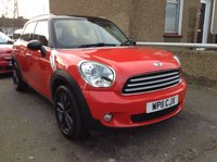 2011 MINI COUNTRYMAN 1.6 COOPER 5d 122 BHP £4990.00
