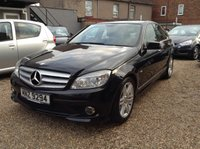USED 2009 MERCEDES-BENZ C CLASS 2.1 C220 CDI BLUEEFFICIENCY SPORT 4d AUTO 170 BHP FULL SERVICE HISTORY + LOVELY SPORT MODEL