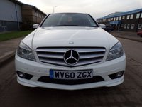 USED 2010 60 MERCEDES-BENZ C CLASS 2.1 C250 CDI BLUEEFFICIENCY SPORT AUTOMATIC SAT NAV GLASS ROOF 204 BHP PART EXCHANGE AVAILABLE / ALL CARDS / FINANCE AVAILABLE
