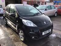 USED 2013 13 PEUGEOT 107 1.0 ALLURE 5d 68 BHP 41000 miles, 5 door, economical, free road tax, superb.