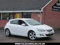 USED 2012 12 VAUXHALL ASTRA 1.6 SRI 5dr GREAT SPEC IN THE BEST COLOUR