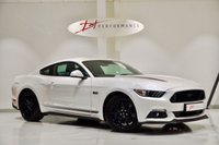 USED 2018 18 FORD MUSTANG 5.0 V8 GT SHADOW EDITION 2d AUTO 410 BHP 1 OWNER PEARL WHITE