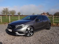 USED 2014 64 MERCEDES-BENZ A CLASS 2.1 A200 CDI SPORT 5d AUTO 136 BHP FACTORY FIITTED NIGHT PACKAGE