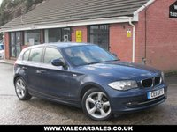 USED 2011 11 BMW 1 SERIES 118D SPORT 5dr FULL SERVICE HISTORY / £30 A YEAR TAX