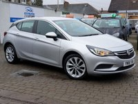 USED 2016 16 VAUXHALL ASTRA 1.6 DESIGN CDTI 5d 108 BHP PLEASE CALL IF YOU CANT SEE WHAT YOU ARE AFTER . WE WILL CHECK OUR OTHER BRANCHES FOR YOU . WE HAVE OVER 100 CARS IN GROUP STOCK