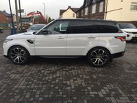 USED 2018 18 LAND ROVER RANGE ROVER SPORT 3.0 SDV6 HSE 5d AUTO 306 BHP VAT QUALIFYING
