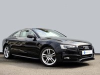 USED 2016 16 AUDI A5 1.8 TFSI S LINE 3d 175 BHP SATELLITE NAVIGATION with FRONT & REAR PARK DISTANCE CONTROL......FULL AUDI SH......