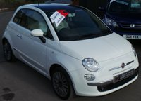 USED 2015 15 FIAT 500 1.2 LOUNGE 3d 69 BHP Low Miles - 4 Services - £30 Tax - High Spec