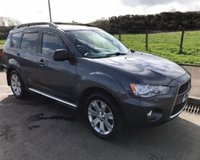USED 2012 62 MITSUBISHI OUTLANDER 2.3 DI-D GX4 7 SEATER 5d 177 BHP 6 MONTHS PARTS+ LABOUR WARRANTY+AA COVER