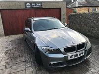 2009 BMW 3 SERIES 2.0 320D M SPORT TOURING 5d 175 BHP £SOLD