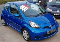USED 2010 10 TOYOTA AYGO 1.0 BLUE VVT-I 3d 67 BHP 1 Lady Owner - Low Miles - 9 Services - £20 Tax