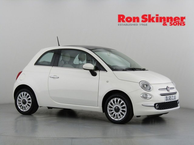 View our 2016 65 FIAT 500 1.2 LOUNGE 3d 69 BHP