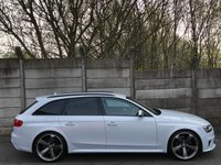 USED 2014 63 AUDI RS4 AVANT 4.2 AVANT FSI QUATTRO 5d AUTO 444 BHP ACC/LANE ASSIST/DRIVE SELECT