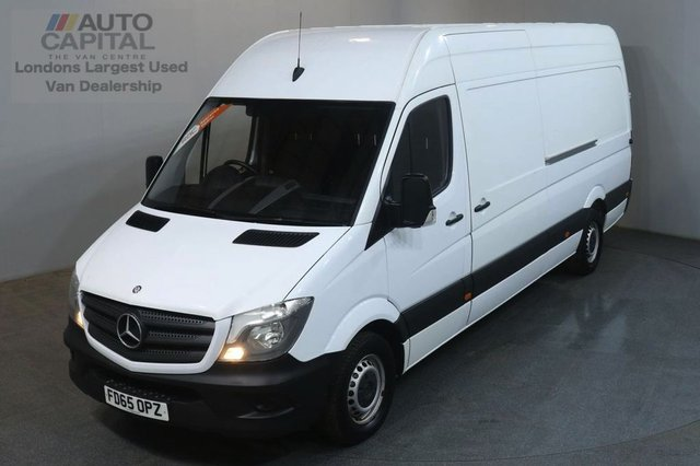 2015 65 MERCEDES-BENZ SPRINTER 2.1 313 CDI LWB 129 BHP H/ROOF PANEL VAN ONE OWNER FULL S/H SPARE KEY