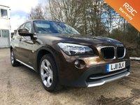 2011 BMW X1 2.0 SDRIVE18D SE 5d 141 BHP £7500.00