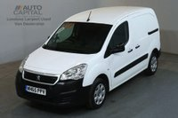 USED 2016 65 PEUGEOT PARTNER 1.6 HDI PROFESSIONAL 625 92 BHP SWB AIR CON ONE OWNER REVERSE SENSORS