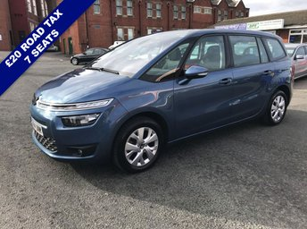 2014 CITROEN C4 GRAND PICASSO 1.6 E-HDI AIRDREAM VTR PLUS 5d 113 BHP £7495.00