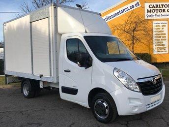 2013 VAUXHALL MOVANO 2.3 R3500 L2 LUTON BOX VAN+ T/ LIFT DRW T/SLD CDTi 125 EX NHS, £8950.00