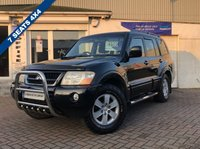 USED 2005 05 MITSUBISHI SHOGUN 3.2 ELEGANCE LWB DI-D 5d 159 BHP SUPPLIED WITH 12 MONTHS MOT, LOVELY 4X4 TO DRIVE