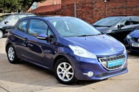 USED 2013 63 PEUGEOT 208 1.2 ACTIVE 3d 82 BHP **** £20 ROAD TAX * BLUETOOTH * AIR CON ****