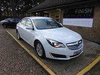 USED 2013 63 VAUXHALL INSIGNIA 2.0 DESIGN CDTI ECOFLEX S/S 5d 118 BHP * 1 KEEPER FROM NEW *  ZERO ROAD TAX * FULL SERVICE HISTORY WITH 5 STAMPS *