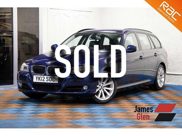 USED 2012 12 BMW 3 SERIES 2.0 318D SE TOURING 5d 141 BHP One Owner   Full BMW Dealer Service History - 5 Stamps