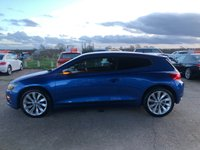 USED 2011 11 VOLKSWAGEN SCIROCCO 2.0 GT TDI BLUEMOTION TECHNOLOGY DSG 2d AUTO 140 BHP