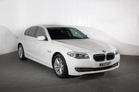 USED 2012 12 BMW 5 SERIES 2.0 520D EFFICIENTDYNAMICS 4d 181 BHP Call us for Finance