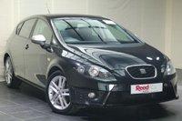 "USED 2012 12 SEAT LEON 2.0 CR TDI FR DSG 5d AUTO 140 BHP PARKING SENSORS + 17"" ALLOYS"