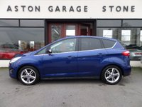 USED 2014 14 FORD C-MAX 2.0 TITANIUM X TDCI 5d 161 BHP **F/S/H * ACTIVE PARK** ** F/S/H * PAN ROOF * ACTIVE PARK ASSIST **