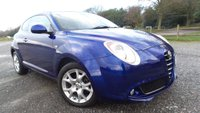 USED 2010 10 ALFA ROMEO MITO 1.4 LUSSO 16V 3d 95 BHP ALLOY-WHEELS, CD-PLAYER, AIR-CONDITIONING, ELECTRIC WINDOWS, REMOTE LOCKING, METALLIC PAINT, PARKING SENSORS, ELECTRIC MIRRORS,