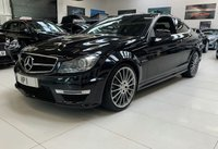 USED 2013 13 MERCEDES-BENZ C CLASS 6.2 C63 AMG 2d AUTO 457 BHP COUPE