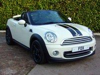 2013 MINI ROADSTER 1.6 COOPER 2d 120 BHP £7675.00