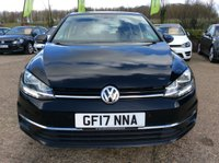 USED 2017 17 VOLKSWAGEN GOLF 1.6 SE NAVIGATION TDI BLUEMOTION TECHNOLOGY 5d 114 BHP TWO OWNERS, SAT NAV, ALLOYS, AIR CONDITIONING, PARKING SENSORS, 2 SERVICE STAMPS, 1 MAIN DEALER, SPARE KEY