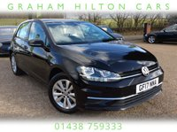 2017 VOLKSWAGEN GOLF 1.6 SE NAVIGATION TDI BLUEMOTION TECHNOLOGY 5d 114 BHP £13500.00