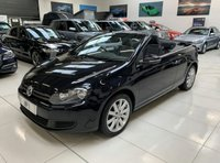 USED 2013 13 VOLKSWAGEN GOLF 1.6 SE TDI BLUEMOTION TECHNOLOGY 2d 104 BHP CONVERTIBLE