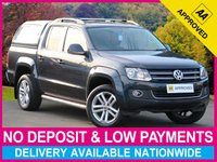 USED 2015 15 VOLKSWAGEN AMAROK 2.0 BiTDI HIGHLINE AUTOMATIC 4MOTION HARDTOP CANOPY HARDTOP CANOPY SAT NAV LEATHER BLUETOOTH CRUISE