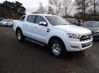 USED 2016 66 FORD RANGER 2.2 LIMITED 4X4 DCB TDCI 1d 158 BHP ****Great Value 4X4 car with service history, Great spec, Drives superbly****
