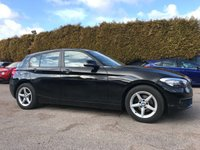 USED 2016 66 BMW 1 SERIES 1.5 116D ED PLUS 5d WITH SAT NAV. ALLOYS AND BLUETOOTH  NO DEPOSIT  PCP/HP FINANCE ARRANGED, APPLY HERE NOW