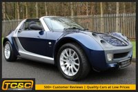 USED 2005 05 SMART ROADSTER 0.7 80 AUTO LHD 2d 100 BHP A FUN AND RARE CAR IN GREAT CONDITION WITH FULL HISTORY!!!