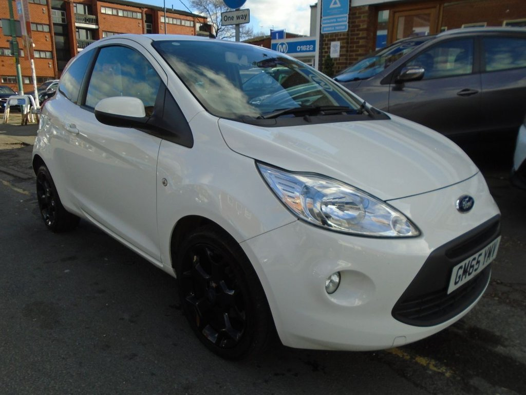 Used   Ford Ka   Zetec White Edition D  Bhp Only  Owner