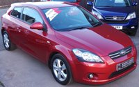 USED 2008 08 KIA CEED 1.6 PRO CEED 2 3d 121 BHP 1 Owner from New - Low Miles - 10 Kia Services