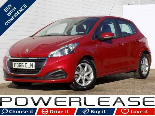 USED 2016 66 PEUGEOT 208 1.6 BLUE HDI ACTIVE 5d 75 BHP