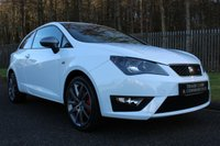 USED 2014 14 SEAT IBIZA 1.4 TSI ACT FR EDITION 3d 140 BHP A LOVELY LOW MILEAGE, LOW OWNER EXAMPLE........
