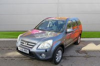 USED 2005 05 HONDA CR-V 2.0 I-VTEC SPORT 5d 148 BHP 4x4, LOW MILES NICE CAR. FINANCE ME TODAY-DELIVERY POSSIBLE
