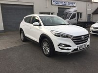 2017 HYUNDAI TUCSON 1.7 CRDI SE BLUE DRIVE 5d With heated seats and parking aid. £13750.00