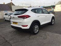 USED 2017 17 HYUNDAI TUCSON 1.7 CRDI SE BLUE DRIVE 5d With heated seats and parking aid.
